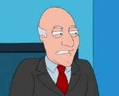 Patrick Stewart's character Avery Bullock in 'American Dad'