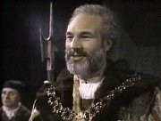 Patrick Stewart as Claudius in 'Hamlet, Prince of Denmark'