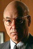 Patrick Stewart as Dr Jonas in 'Conspiracy Theory'