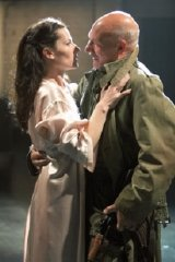 Patrick Stewart & Kate Fleetwood in 'Macbeth'