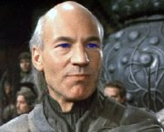 Patrick Stewart as Gurney Halleck in 'Dune'