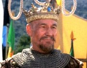 Patrick Stewart as King Richard in 'Robin Hood: Men in Tights'