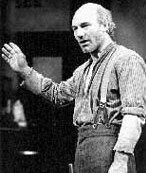 Patrick Stewart as Larry Slade in 'The Ice Man Cometh'