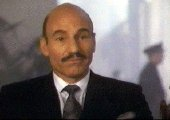 Patrick Stewart as Mr Purdy in 'L.A.Story'