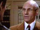 Patrick Stewart as Dr Armstrong in 'Lifeforce'