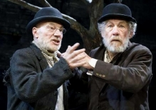 Patrick Stewart & Ian McKellan in 'Waiting for Godot'