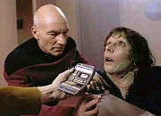 Patrick Stewart & Marina Sirtis in 'Star Trek: The Next Generation'