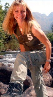 Michaela Strachan enjoys the outdoor life