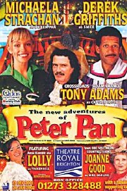 Theatre poster for 'Peter Pan' in Brighton 2002