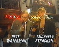 Michaela Strachan and Pete Waterman in 'The Hit Man and Her'
