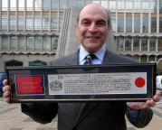 David Suchet was awarded the Freedom of the City of London in 2009
