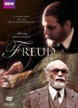 David Suchet shown as the young and old Dr Sigmund Freud in 'Freud' (1984)
