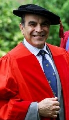 David Suchet received an Honorary Degree from the University of Kent in 2010