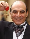 David Suchet with his OBE in 2002