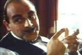 David Suchet's first appearance as Hercule Poirot in 'The Adventure of the Clapham Cook' (1989)