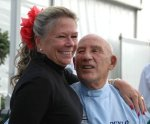Sir Stirling Moss and his wife Lady Susie Moss