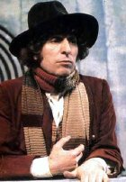 Tom Baker as the Fourth Dr Who