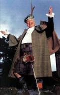 Tom Baker as Donald McDonald in Monarch of the Glen