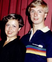 Jayne Torvill and Christopher Dean in 1981