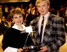 Torvill and Dean are named 'Sports Personality of the Year' in 1984
