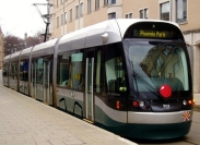 Nottingham tram named 'Torvill and Dean'