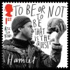 David Tennant as Hamlet on a Royal Mail first-class postage stamp