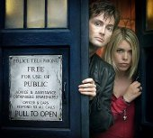 David Tennant & Billie Piper in 'Doctor Who'