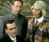 David Tennant, James Hurn & Diana Rigg in 'The Mrs Bradley Mysteries' (2000)