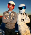 David Tennant with 'The Stig' in 'Top Gear'