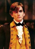 David Tennant as Colonel Hamilton in the RSC's production of 'The General from America' (1996)