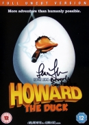 Howard the Duck dvd cover signed by Lea Thompson