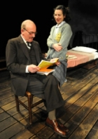 Christopher Timothy & Amy Dawson in 'The Diary of Anne Frank'