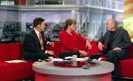 Christopher Timothy interviewed by Jon Kay & Kate Silverton about 'The Diary of Anne Frank' on BBC Breakfast