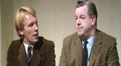 Christopher Timothy & John Comer in 'Murder Most English: The Flaxborough Chronicle' (1977)