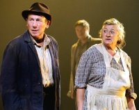 Christopher Timothy & Sorcha Cusack in 'The Grapes of Wrath'