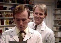 Christopher Timothy & Peter Davison in 'All Creatures Great and Small'