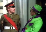 Christopher Timothy & Dick Emery in a sketch from 'The Dick Emery Show' (1976)