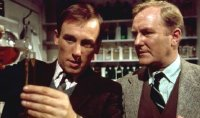 Christopher Timothy & Robert Hardy in 'All Creatures Great and Small'