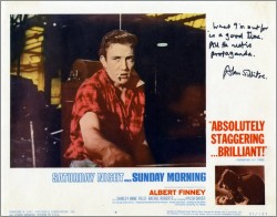 Saturday Night and Sunday Morning Lobby Card 4