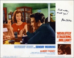Saturday Night and Sunday Morning Lobby Card 5