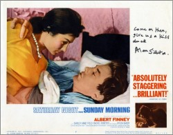 Saturday Night and Sunday Morning Lobby Card 8