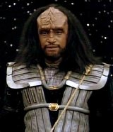 Tony Todd as Kurn in 'Star Trek: Deep Space Nine'