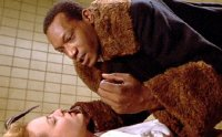Tony Todd & Virginia Madsen in 'Candyman'