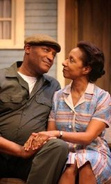 Tony Todd as Troy Maxson & Nora Cole as his mother in 'Fences'