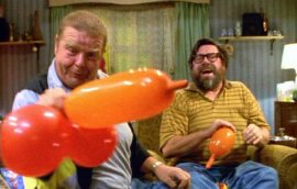 Geoffrey Hughes & Ricky Tomlinson in 'The Royle Family'