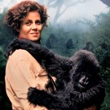 Sigourney Weaver as Dian Fossey in 'Gorillas in the Mist' (1988)