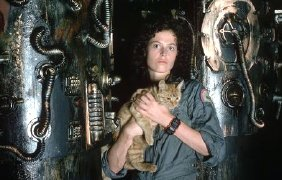 Sigourney Weaver as Ellen Ripley in 'Alien' (1979)