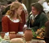 Honeysuckle Weeks and Anthony Calf in 'Lorna Doone'