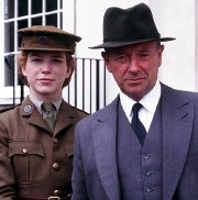 Honeysuckle Weeks and Michael Kitchen in 'Foyle's War'