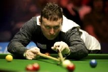 Jimmy White at the snooker table